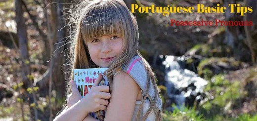 Portuguese Pronouns. Pronomes possessivos em Português. Learn Portuguese with podcasts