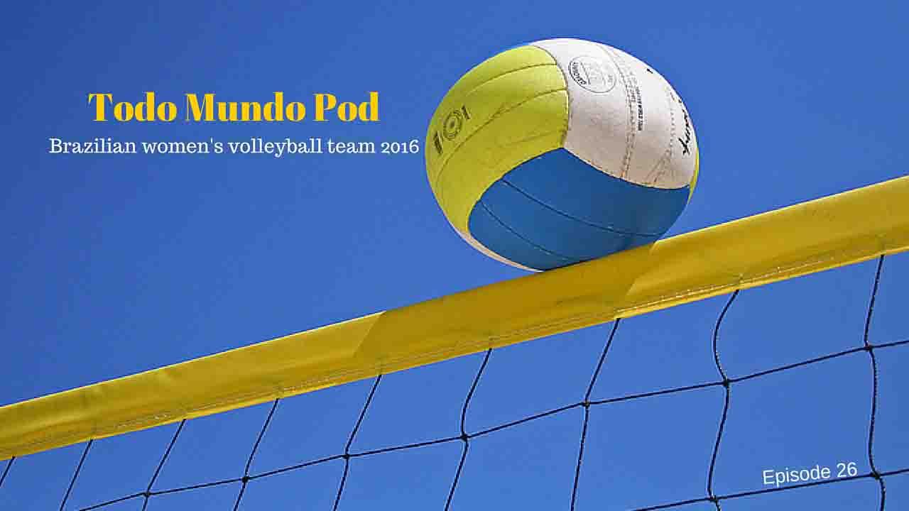 Brazilian women's volleyball team 2016