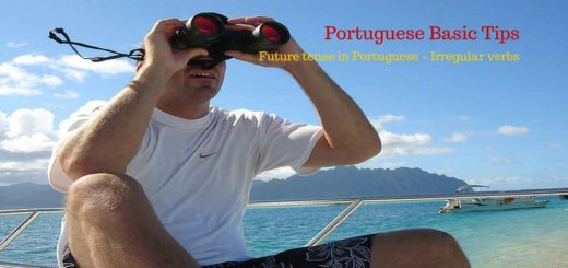 Future tense in Portuguese - A few irregular verbs