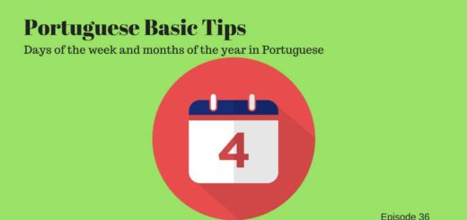 Days of the week and months of the year in Portuguese