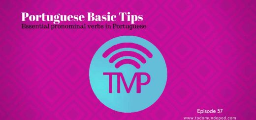 Essential pronominal verbs in Portuguese