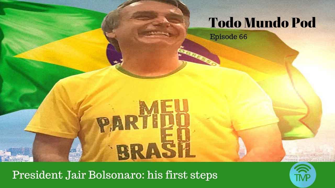 Brazilian President Jair Bolsonaro. Picture from Jair's profile
