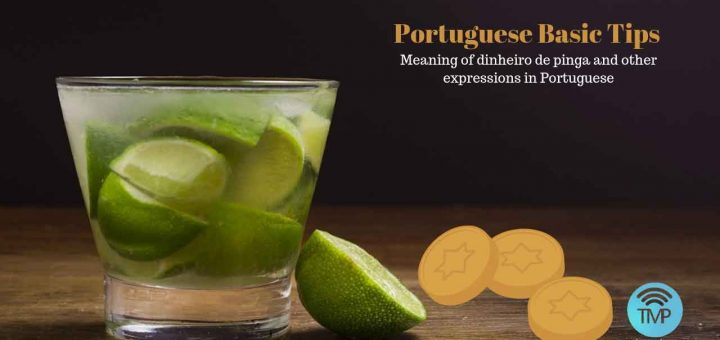 Meaning of dinheiro de pinga in Portuguese