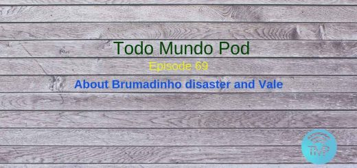A podcast speaking of th Brumadinho disaster and about Vale Brasilian company