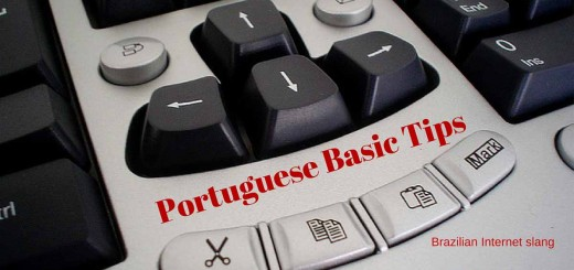 Image that ilustrates the fifth episode of Portuguese Basic Tips about Brazilian Internet Slang