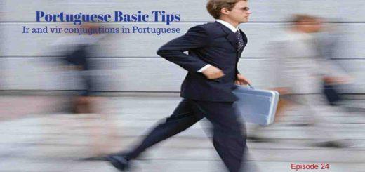 Learn Ir conjugation and Ir conjugation in Portuguese