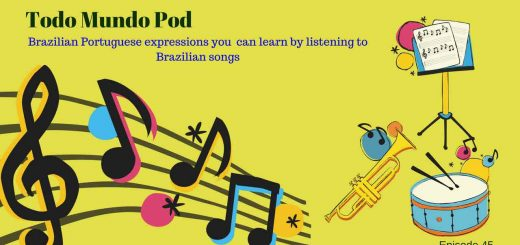 You can learn Brazilian Portuguese expressions by using Brazilian music
