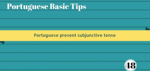 Portuguese present subjunctive tense. Podcast about subjunctive in Portuguese