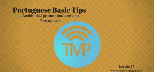 On today's podcast, you'll learn some accidental pronominal verbs in Portuguese