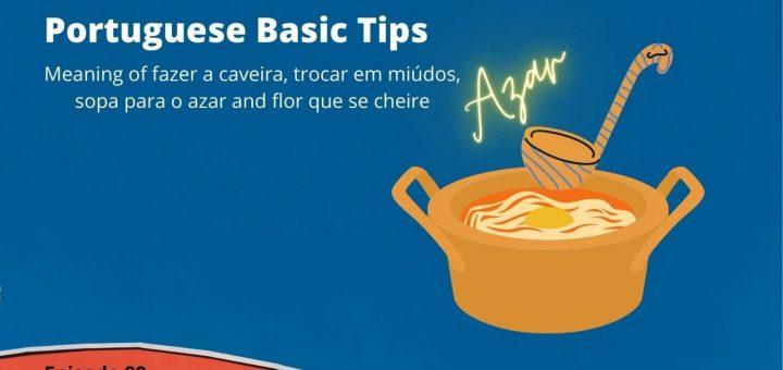 meaning of fazer a caveira